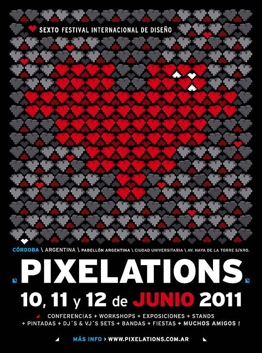 PIXELATIONS 2011. Festival de Diseño