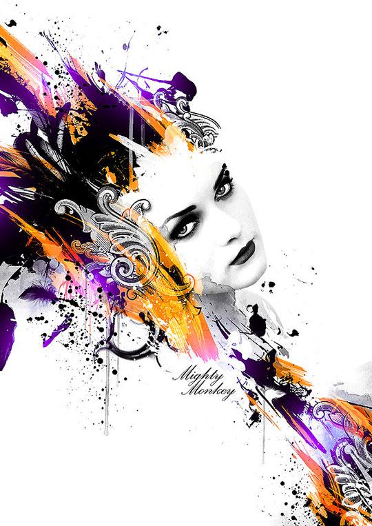Inspiración en arte digital de RYAN RACHMANTO