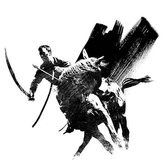 Ilustración y comic de TIMOTHY BRADSTREET