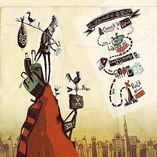 Ilustración desde Chile con ALFREDO CACERES