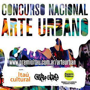 Concurso Nacional de arte urbano ITAU CULTURAL