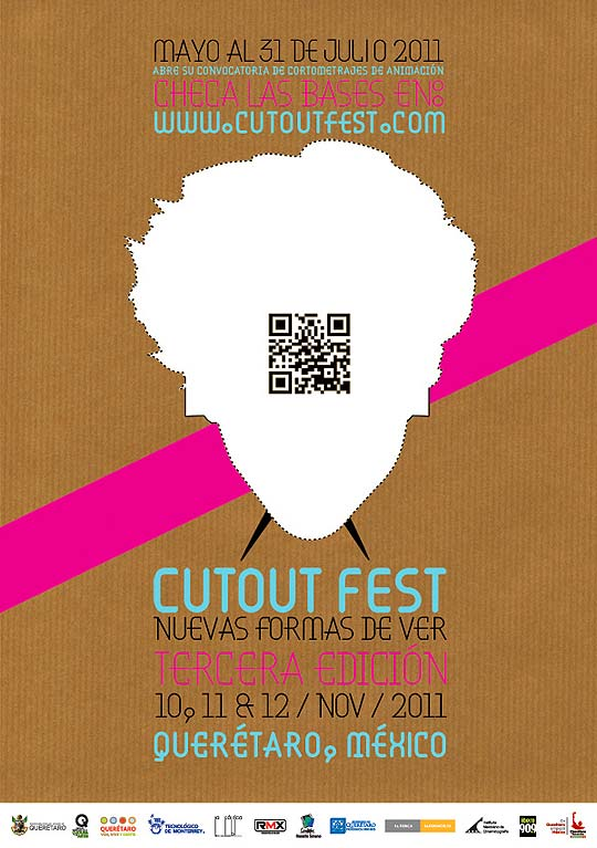 Convocatoria CUTOUT FEST Festival Internacional de Animación