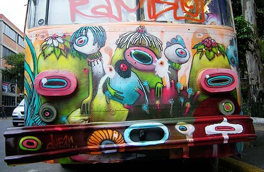 Arte urbano e ilustración de DHEAR ONE