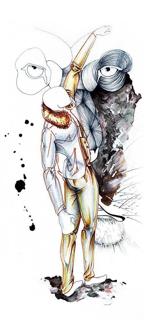 Ilustración y dibujo de GISELLE VITALI