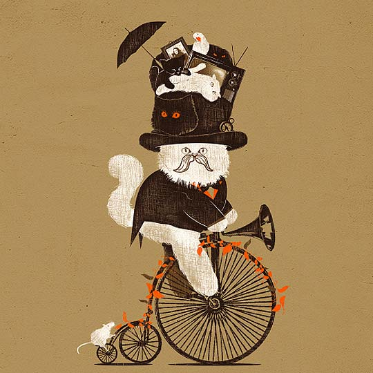 Ilustración, humor y patrones de JOAO LAURO FONTE