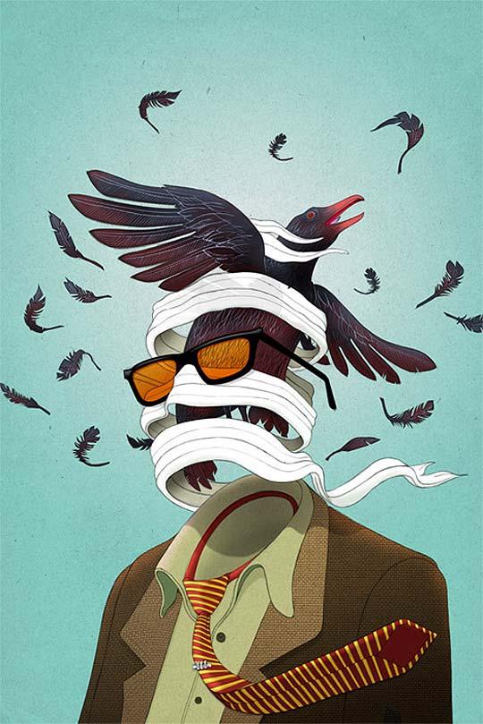 Ilustración desde Canadá con MICHAEL WANDELMAIER