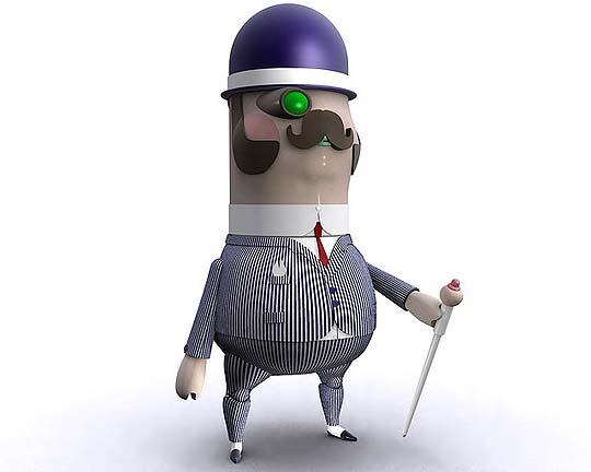Ilustración y Personajes 3D de RAUL REAL – OJOFRITO
