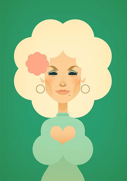 Ilustración vectorial, retratos y caricaturas de STANLEY CHOW