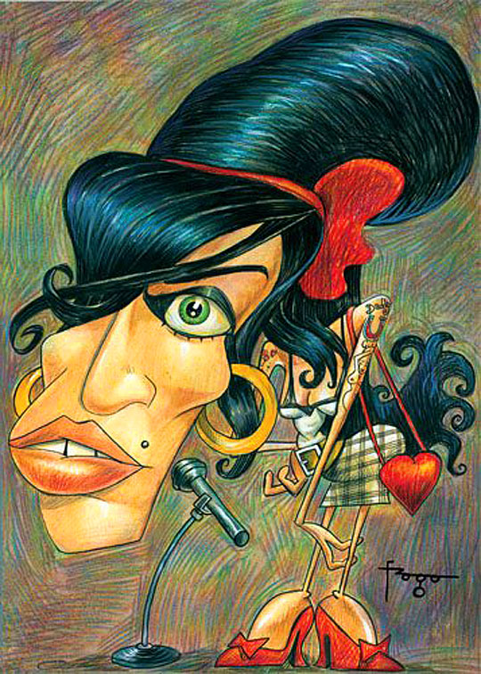 Amy Winehouse por FRAGA