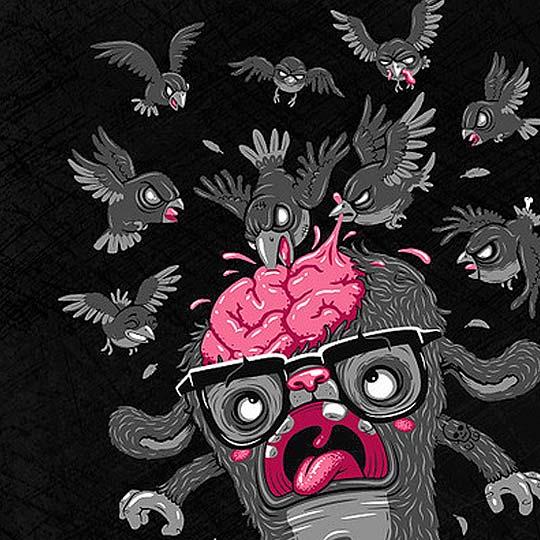 Vector, Ilustración, t-shirts y más de ANDREAS KRAPF