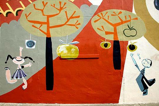Arte urbano, pintura y diseño de BRIAN BARNECLO