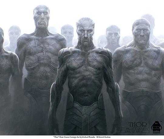 Concept Art de Thor por MICHAEL KUTSCHE