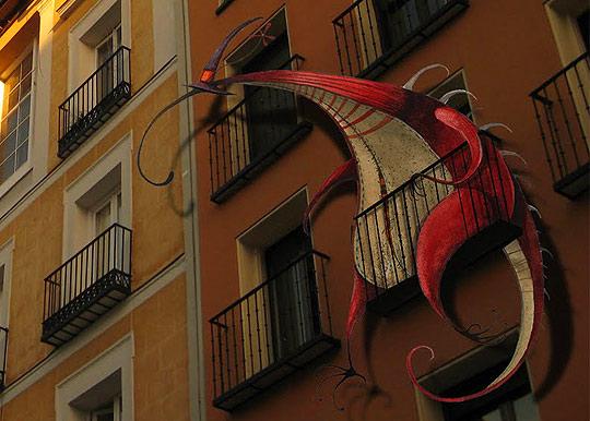 Ilustración en detalle de DANIEL MONTERO GALÁN