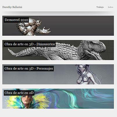 Portafolio de Diseño online. Algunos tips y consejos II (Dorothy Ballarini)