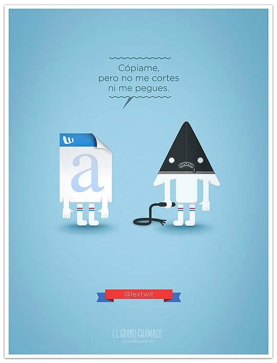 Ilustración, humor y tweets con EL GRAND CHAMACO