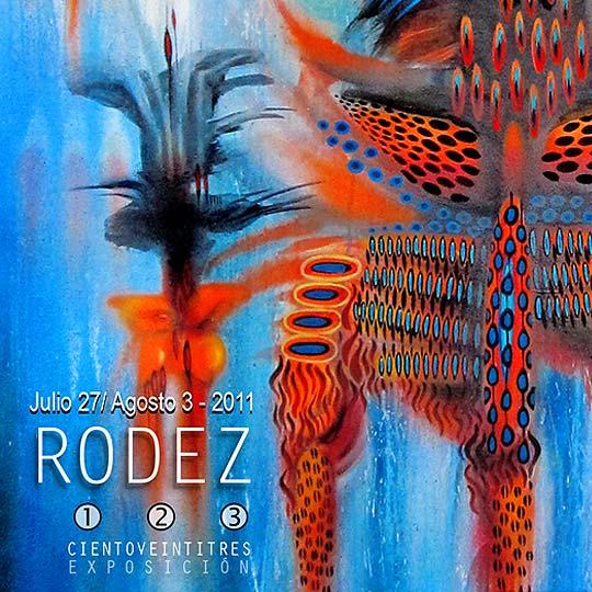 Exposición Ciento veintitrés de RÓDEZ