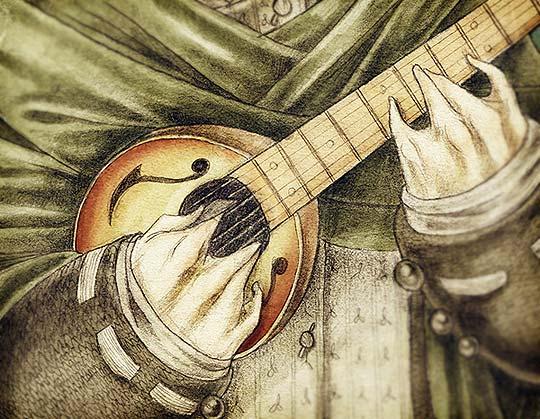 Ilustración en detalle de FERNANDO FORERO