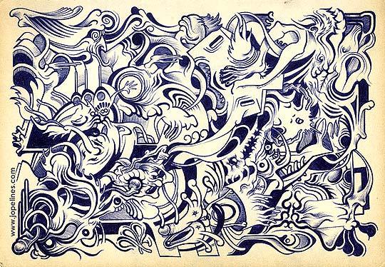 Ilustración. Caos por JOPE LINES