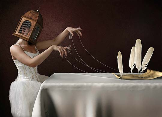Fotografía, surrealismo, steampunk de JAMIE BALDRIDGE