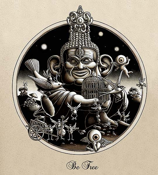 Animación de MICHEL GONDRY para BJÖRK. Crystalline