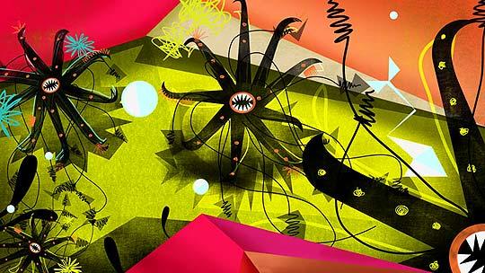 Motion graphics, dirección y diseño de LAURA ALEJO