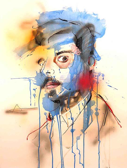 Ilustración y pintura de LOU ROS