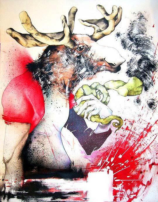 MISSRRAIM ALVAREZ, ilustrador mexicano