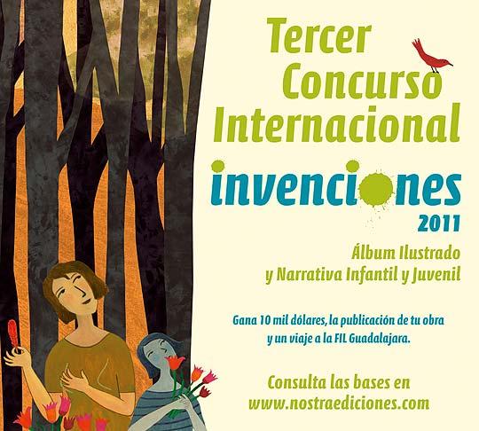 Convocatoria álbum ilustrado, Invenciones 2011