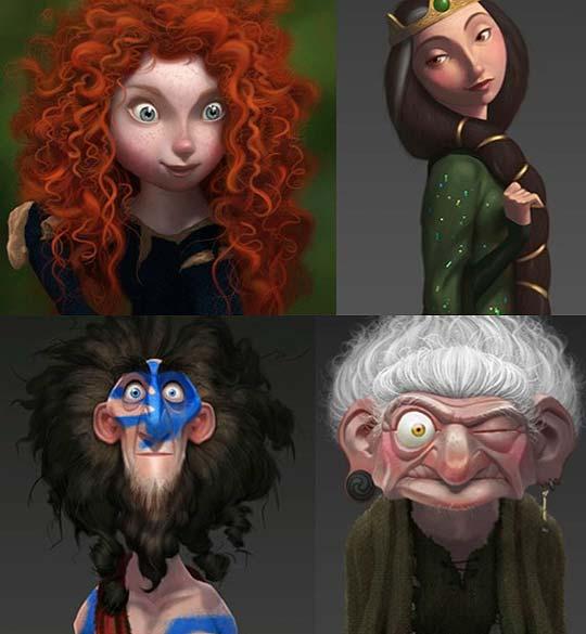 Personajes, tráiler y más de BRAVE, lo nuevo de Pixar