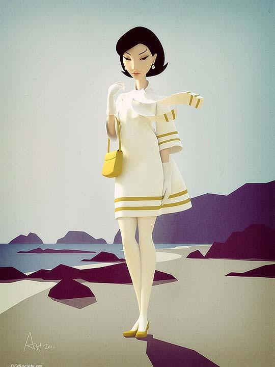 Ilustración 3D de ANDREW HICKINBOTTOM