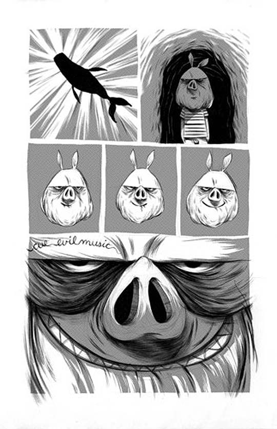 Ilustración, comic y mas con BRITT WILSON