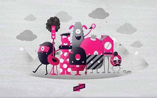 Ilustración y personajes de CAMILO BEJARANO