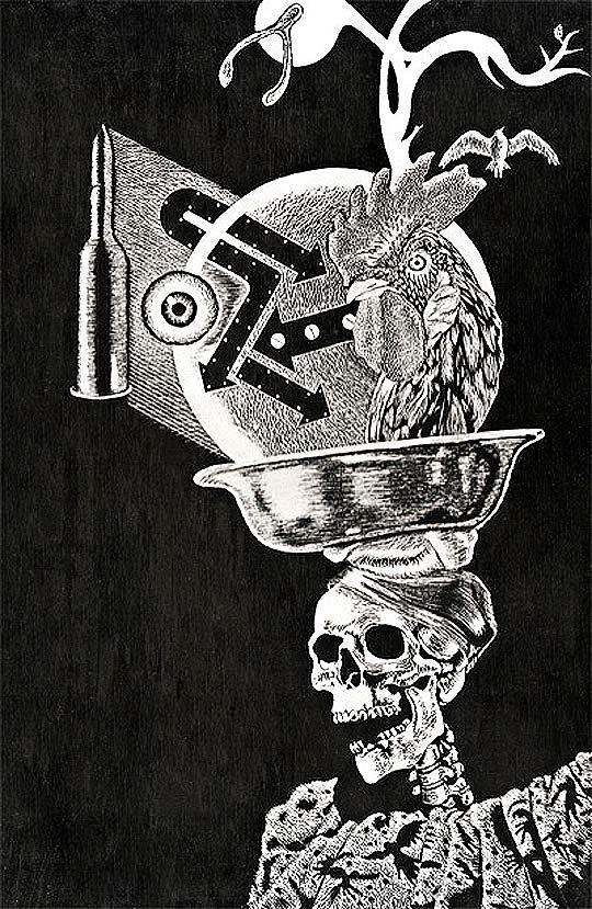 Ilustración. Carnaval de superstición de DAVID ROMERO