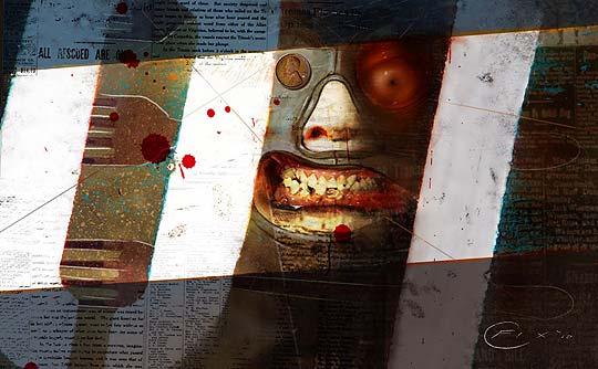 Ilustración y concept art de COLIN FIX