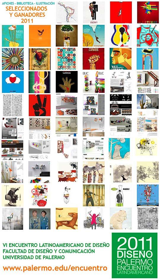Ganadores Encuentro Latinoamericano de Diseño 2011