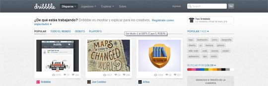 Redes sociales al servicio de diseñadores y artistas