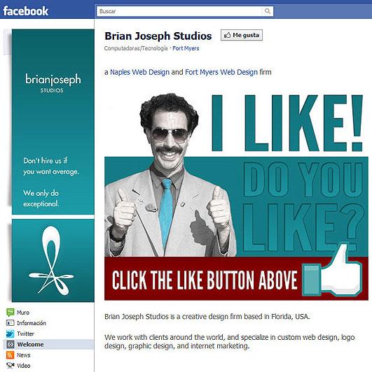 Como usar Facebook para promover nuestro portafolio
