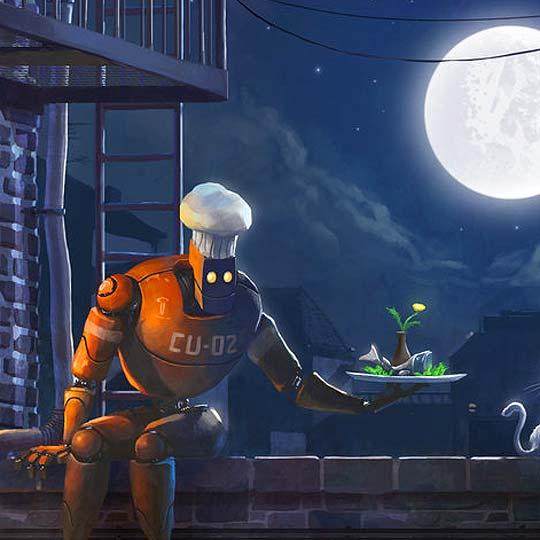 Ilustración, personajes y animación de GORO FUJITA