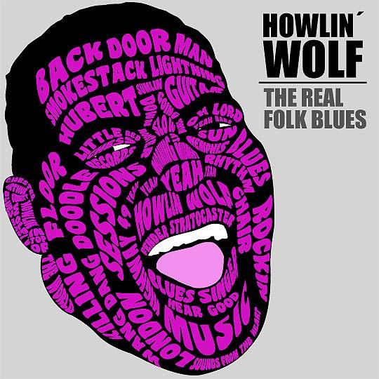 Ilustración. Howlin Wolf de JOSÉ MIGUEL PÉREZ BUENAÑO