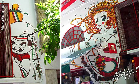 Arte urbano e ilustración. Ilballo de MAKO FUFU