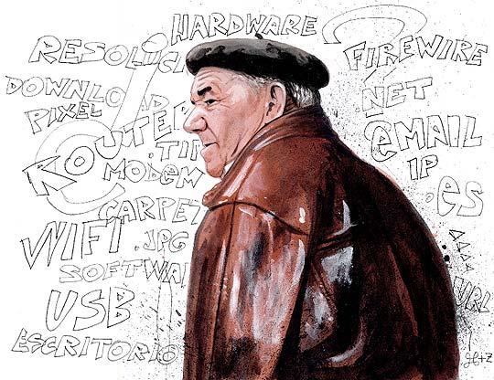Ilustración para El País de LUIS F. SANZ