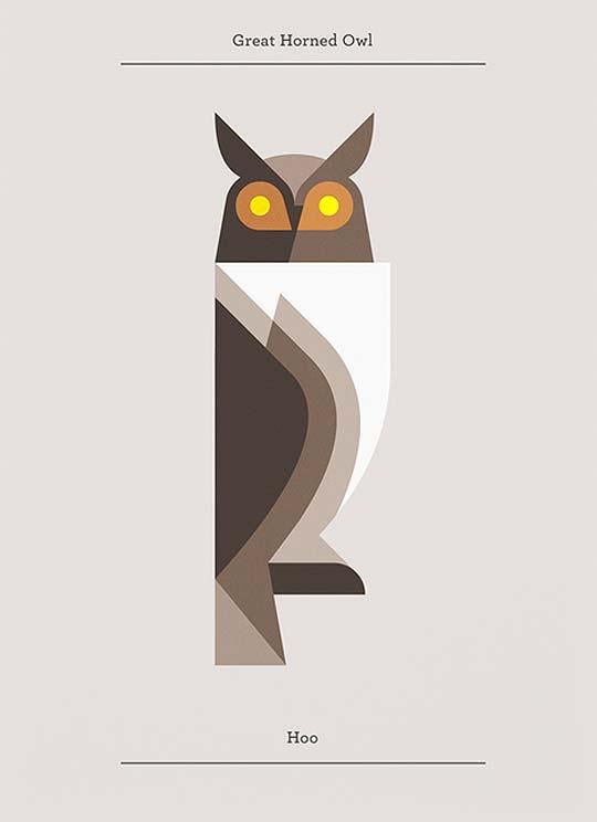 Ilustración de animales con JOSH BRILL - LUMADESSA