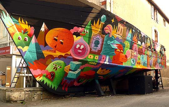 Arte urbano, ilustración y más con LES JEANCLODE