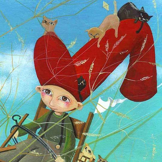 Ilustración infantil de MARÍA JOSÉ OLAVARRÍA COTEPINTA