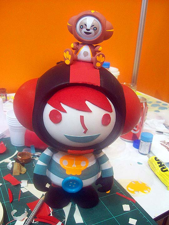 Toys, ilustración y arte de PATRICIO OLIVER - PO!