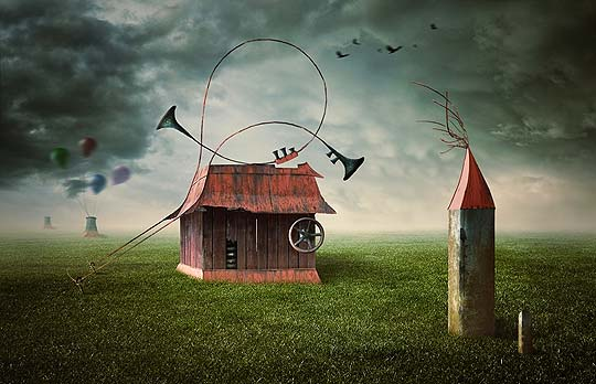 Retoque fotográfico surrealista con PETER CAKOVSKY