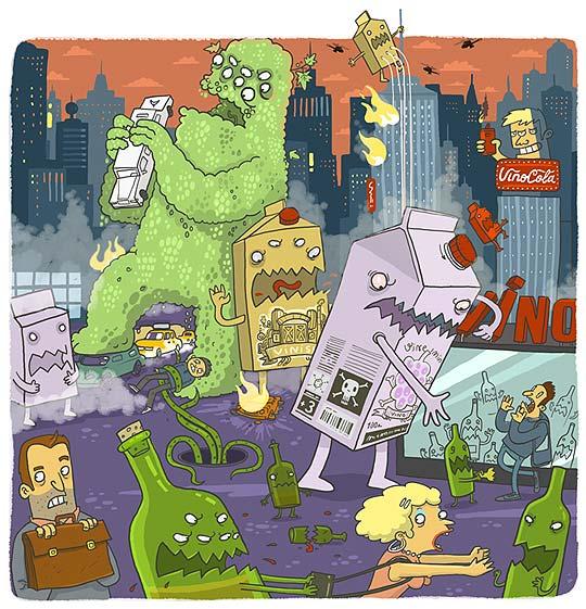 Ilustración, personajes y animación de SERGEY RATNIKOV