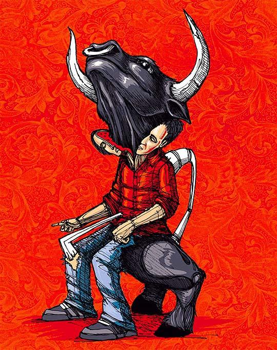 Ilustración. Taller en vida de CESAR NANDEZ