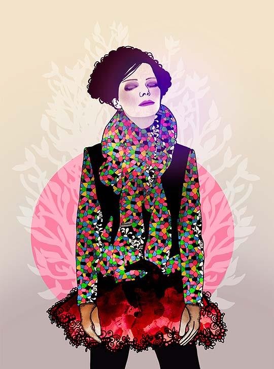 Ilustración. The fairest of the seasons, EILEEN MORENO