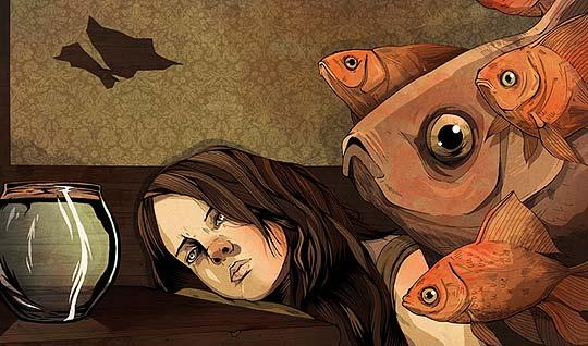 Ilustración y color de ALEXANDER WELLS